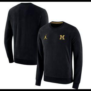 University of Michigan Wolverine Sweatshirt Jordan
